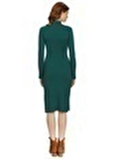 Missguided Elbise Yeşil